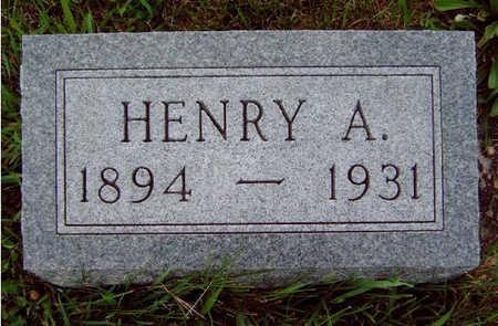 BOND, HENRY ARTHUR - Madison County, Iowa | HENRY ARTHUR BOND
