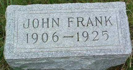 BOND, JOHN FRANK - Madison County, Iowa | JOHN FRANK BOND
