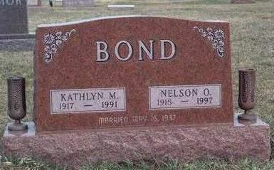EIVINS BOND, KATHLYN MARGARET - Madison County, Iowa | KATHLYN MARGARET EIVINS BOND