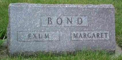 BARNETT BOND, MARGARET JANE - Madison County, Iowa | MARGARET JANE BARNETT BOND