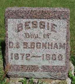 BONHAM, BESSIE E. - Madison County, Iowa | BESSIE E. BONHAM