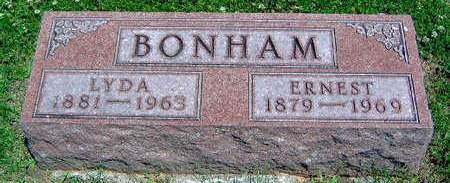 BONHAM, LYDA ANN - Madison County, Iowa | LYDA ANN BONHAM