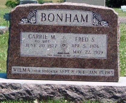 BONHAM, WILMA - Madison County, Iowa | WILMA BONHAM