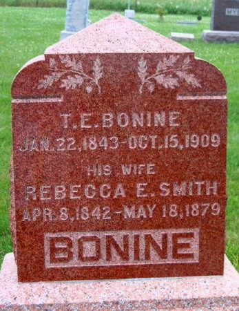 SMITH BONINE, REBECCA E - Madison County, Iowa | REBECCA E SMITH BONINE