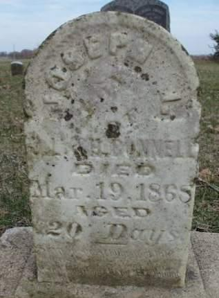 BONNELL, JOSEPH I. - Madison County, Iowa | JOSEPH I. BONNELL