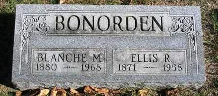BONORDEN, ELLIS RICHARD - Madison County, Iowa | ELLIS RICHARD BONORDEN