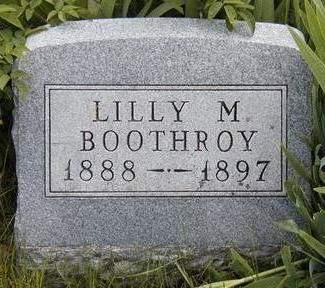 BOOTHROY, LILLY M. - Madison County, Iowa | LILLY M. BOOTHROY