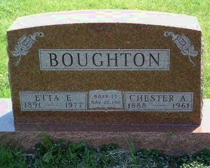 MILLER BOUGHTON, ETTA E. - Madison County, Iowa | ETTA E. MILLER BOUGHTON