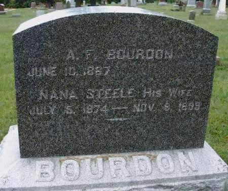 STEELE BOURDON, NANA - Madison County, Iowa | NANA STEELE BOURDON