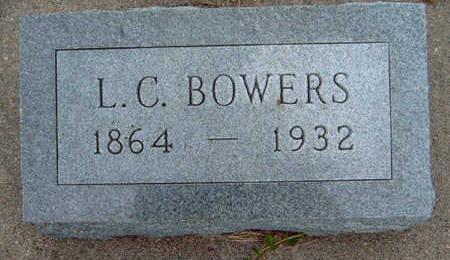 BOWERS, LEWIS C. - Madison County, Iowa   LEWIS C. BOWERS
