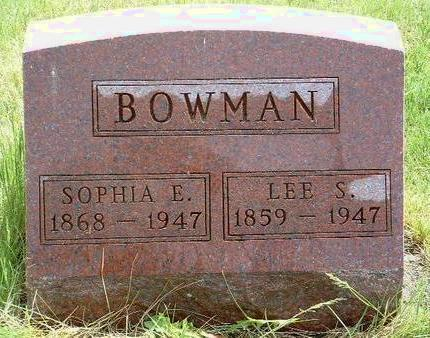 BOWMAN, LEAMAN S. (LEE) - Madison County, Iowa | LEAMAN S. (LEE) BOWMAN