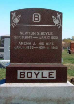 BOYLE, NEWTON SMITH - Madison County, Iowa | NEWTON SMITH BOYLE