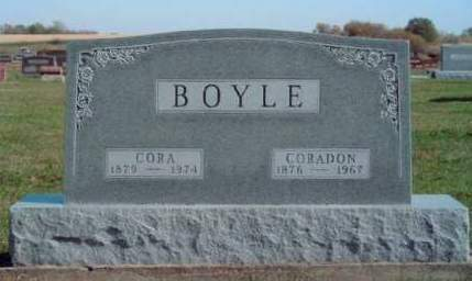 BOYLE, CORADON J. - Madison County, Iowa | CORADON J. BOYLE