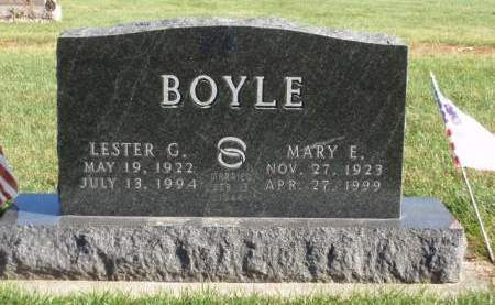 BOYLE, MARY ELIZABETH - Madison County, Iowa | MARY ELIZABETH BOYLE