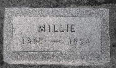 BOYLE, MILLIE - Madison County, Iowa | MILLIE BOYLE