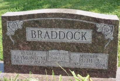 BRADDOCK, RAYMOND MERVIN - Madison County, Iowa | RAYMOND MERVIN BRADDOCK