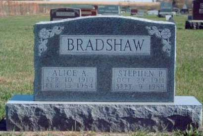 BRADSHAW, STEPHEN ROY - Madison County, Iowa | STEPHEN ROY BRADSHAW