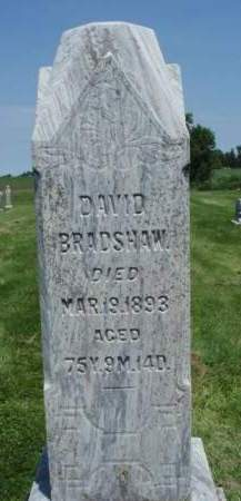 BRADSHAW, DAVID - Madison County, Iowa | DAVID BRADSHAW
