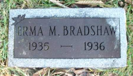 BRADSHAW, ERMA MAY - Madison County, Iowa | ERMA MAY BRADSHAW