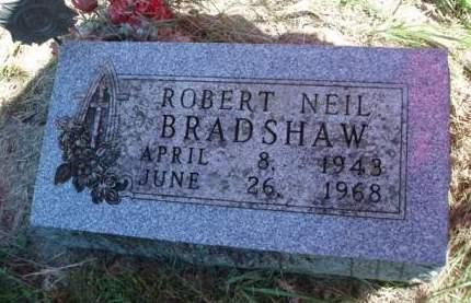 BRADSHAW, ROBERT NEIL - Madison County, Iowa | ROBERT NEIL BRADSHAW