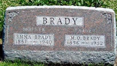 BRADY, EMMA BELLE - Madison County, Iowa | EMMA BELLE BRADY