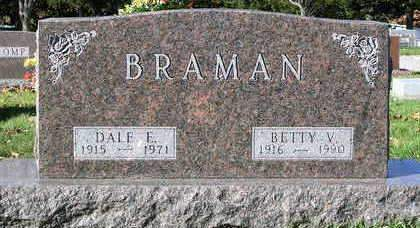 BRAMAN, BETTY VIRGINIA - Madison County, Iowa | BETTY VIRGINIA BRAMAN