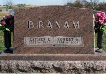 BRANAM, ESTHER LOUISE - Madison County, Iowa | ESTHER LOUISE BRANAM