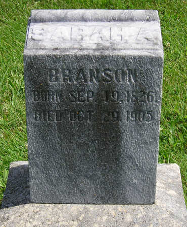 BRANSON, SARAH A. - Madison County, Iowa | SARAH A. BRANSON