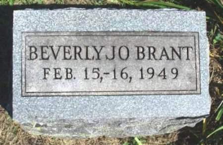 BRANT, BEVERLY JO - Madison County, Iowa | BEVERLY JO BRANT