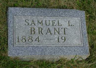 BRANT, SAMUEL L. - Madison County, Iowa | SAMUEL L. BRANT