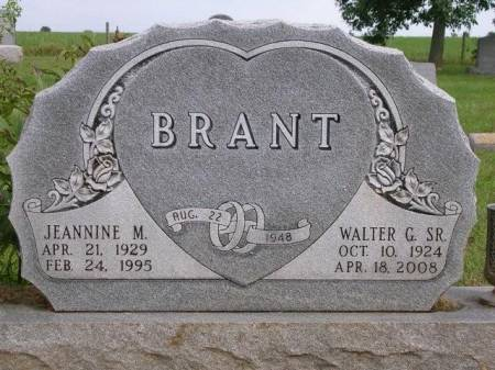 BRANT, WALTER GORDON, SR. - Madison County, Iowa | WALTER GORDON, SR. BRANT