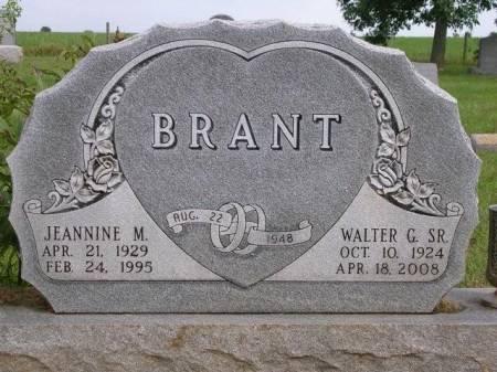 BRANT, JEANNINE MAE - Madison County, Iowa | JEANNINE MAE BRANT