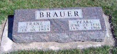 BRAUER, FRANTZ WILLIAM - Madison County, Iowa | FRANTZ WILLIAM BRAUER