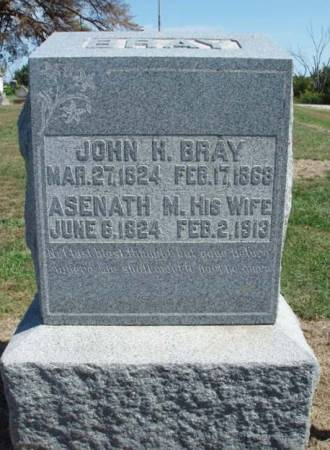 BRAY, JOHN HENRY - Madison County, Iowa | JOHN HENRY BRAY