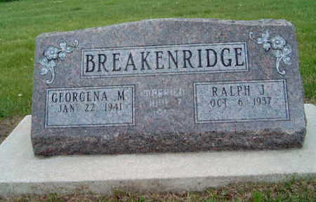 BREAKENRIDGE, GEORGENA MERRON - Madison County, Iowa | GEORGENA MERRON BREAKENRIDGE