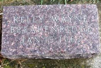 BREAKENRIDGE, KELLY WAYNE - Madison County, Iowa | KELLY WAYNE BREAKENRIDGE