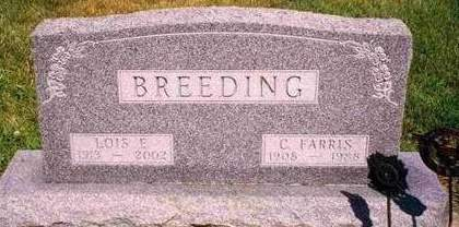 BREEDING, CHARLES FARRIS - Madison County, Iowa | CHARLES FARRIS BREEDING