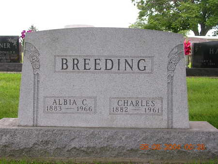 BREEDING, CHARLES - Madison County, Iowa | CHARLES BREEDING