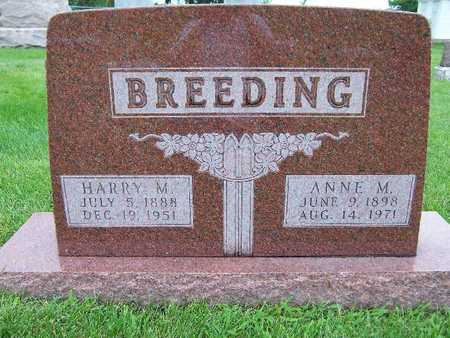 BREEDING, HARRY M. - Madison County, Iowa | HARRY M. BREEDING