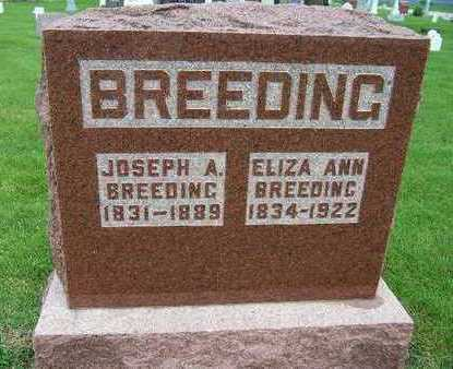 BREEDING, JOSEPH A. - Madison County, Iowa | JOSEPH A. BREEDING