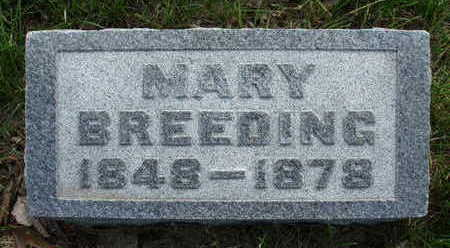 BREEDING, MARY - Madison County, Iowa | MARY BREEDING
