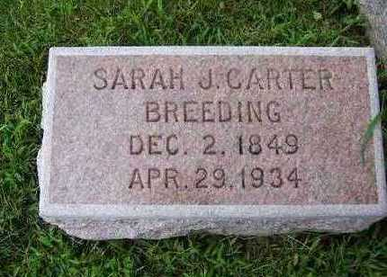 BREEDING, SARAH J. - Madison County, Iowa | SARAH J. BREEDING