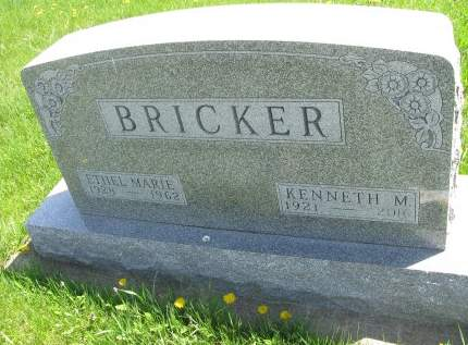 BRICKER, ETHEL MARIE - Madison County, Iowa | ETHEL MARIE BRICKER