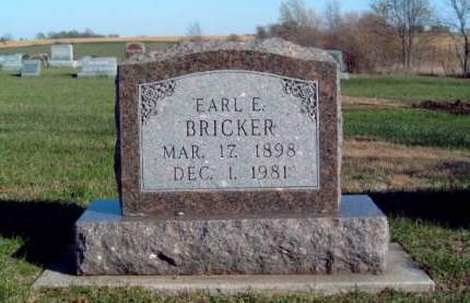 BRICKER, EARL EMORY - Madison County, Iowa | EARL EMORY BRICKER