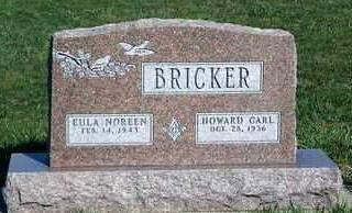 BRICKER, EULA NOREEN - Madison County, Iowa | EULA NOREEN BRICKER