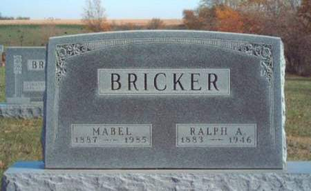 BRICKER, MABEL CLARE - Madison County, Iowa | MABEL CLARE BRICKER