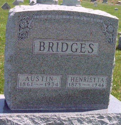 FRYE  BRIDGES, HENRIETTA - Madison County, Iowa | HENRIETTA FRYE  BRIDGES