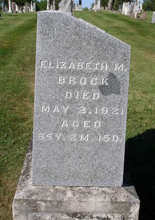 BROCK, ELIZABETH MARY - Madison County, Iowa | ELIZABETH MARY BROCK