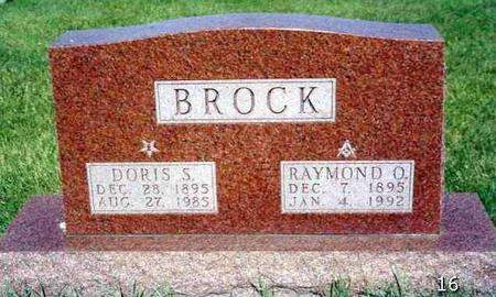 SILLIMAN BROCK, DORIS IRENE - Madison County, Iowa | DORIS IRENE SILLIMAN BROCK