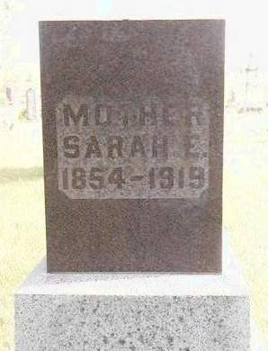 BROCK, SARAH ELIZABETH - Madison County, Iowa | SARAH ELIZABETH BROCK